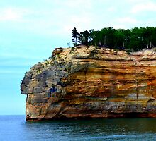 Pictured Rocks 6 by Debbie  Maglothin