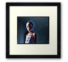 The Innocent in Oil Framed Print