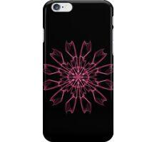 flowers flowers on Black iPhone Case/Skin
