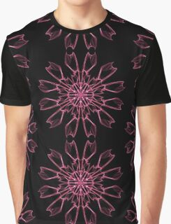 flowers flowers on Black Graphic T-Shirt