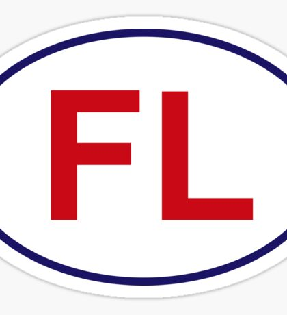 Florida State Sticker Sticker