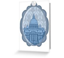 Vatican Cameo Greeting Card