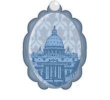 Vatican Cameo Photographic Print