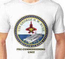 PCU George H.W. Bush (CVN-77) Crest Unisex T-Shirt