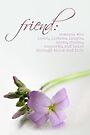 Friend (Card) by Tracy Friesen