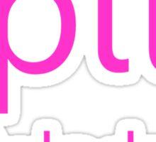Speech Pathologist Pink Sticker