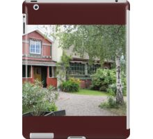 Historic Swedish Home iPad Case/Skin