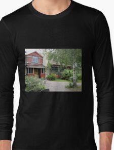 Historic Swedish Home Long Sleeve T-Shirt