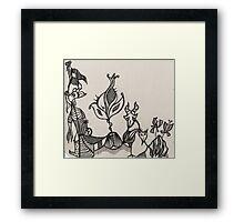 Menagerie Framed Print
