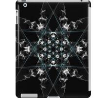 snow star on Black iPad Case/Skin