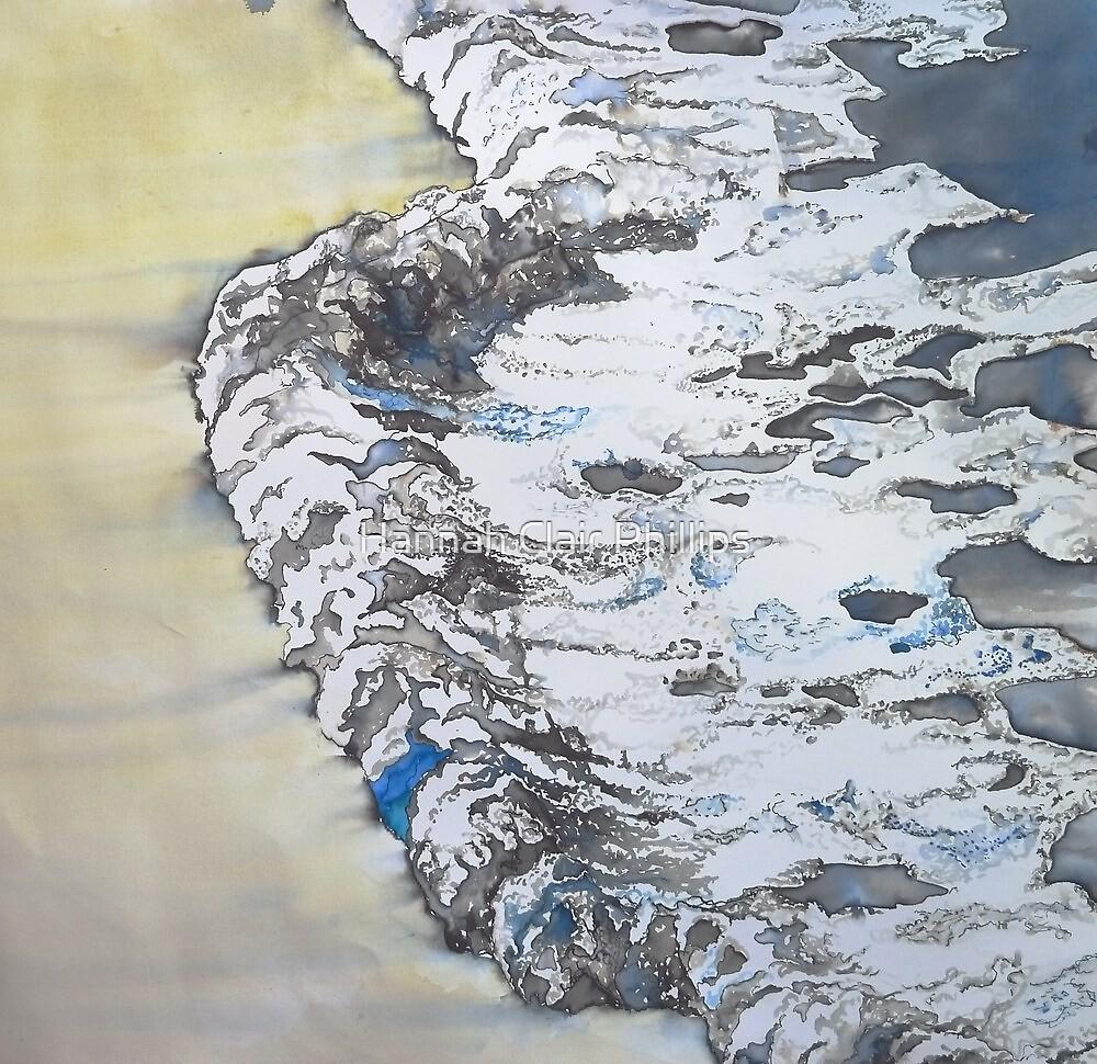 creeping wavelets  by Hannah Clair Phillips