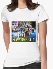 Hansom Cab Womens Fitted T-Shirt