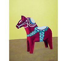 Dala Horse For Marlene Photographic Print