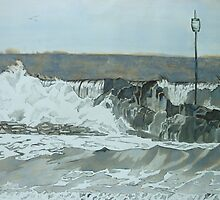 Barrel Rock  by Hannah Clair Phillips