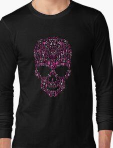 Ca-Skull-Vania (Pink) Long Sleeve T-Shirt