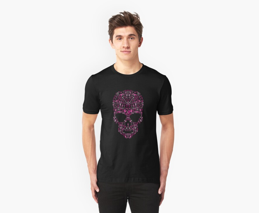 Ca-Skull-Vania (Pink) by vgjunk