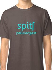 Speech Pathologist Aqua Classic T-Shirt