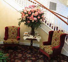 Ashley Inn Lobby....Cascade, Idaho by trueblvr