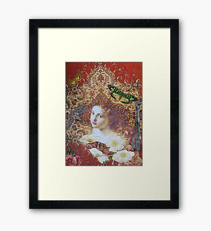 For The Love of Her Framed Print