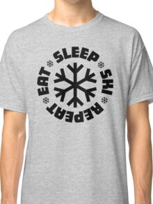 Eat Sleep Ski Repeat Classic T-Shirt