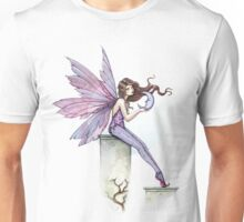 Whispering Moon Fairy Art by Molly Harrison Unisex T-Shirt