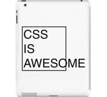 CSS is Awesome iPad Case/Skin