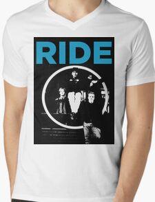 Ride - band T shirt (1992) Mens V-Neck T-Shirt