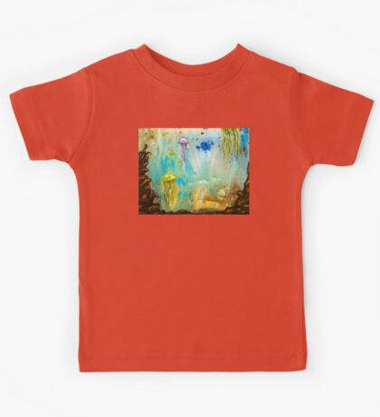 Jellyfish March to The Surface Kids Tee
