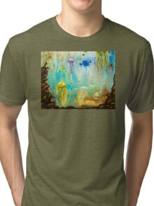 Jellyfish March to The Surface Tri-blend T-Shirt