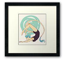 Acrobat Framed Print