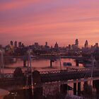 London City Skyline at Dawn  by StantonP