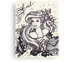 Iconic Ariel Canvas Print