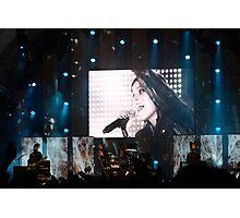 Singing all night long Photographic Print