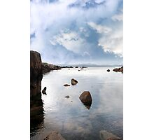 tranquil coastal kerry view Photographic Print