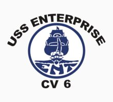 USS Enterprise CV-6 Crest by Spacestuffplus