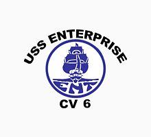 USS Enterprise CV-6 Crest Unisex T-Shirt