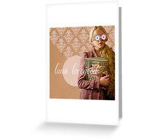 Luna Lovegood Greeting Card