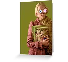 Luna Lovegood 2 Greeting Card