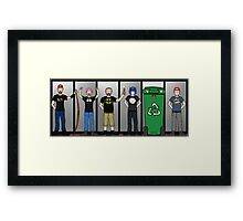 The Creatures Office Framed Print