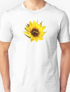 Puzzled Sunflower T-Shirt