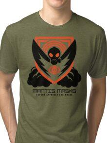MANTIS MASKS Tri-blend T-Shirt
