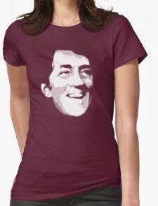dean martin t-shirt Womens Fitted T-Shirt