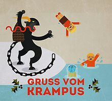 Gruss vom Krampus III by Devil Olive