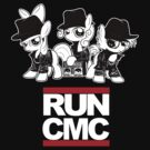 RUN CMC T-shirt (black) by Dori-to