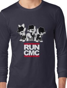 RUN CMC T-shirt (black) Long Sleeve T-Shirt