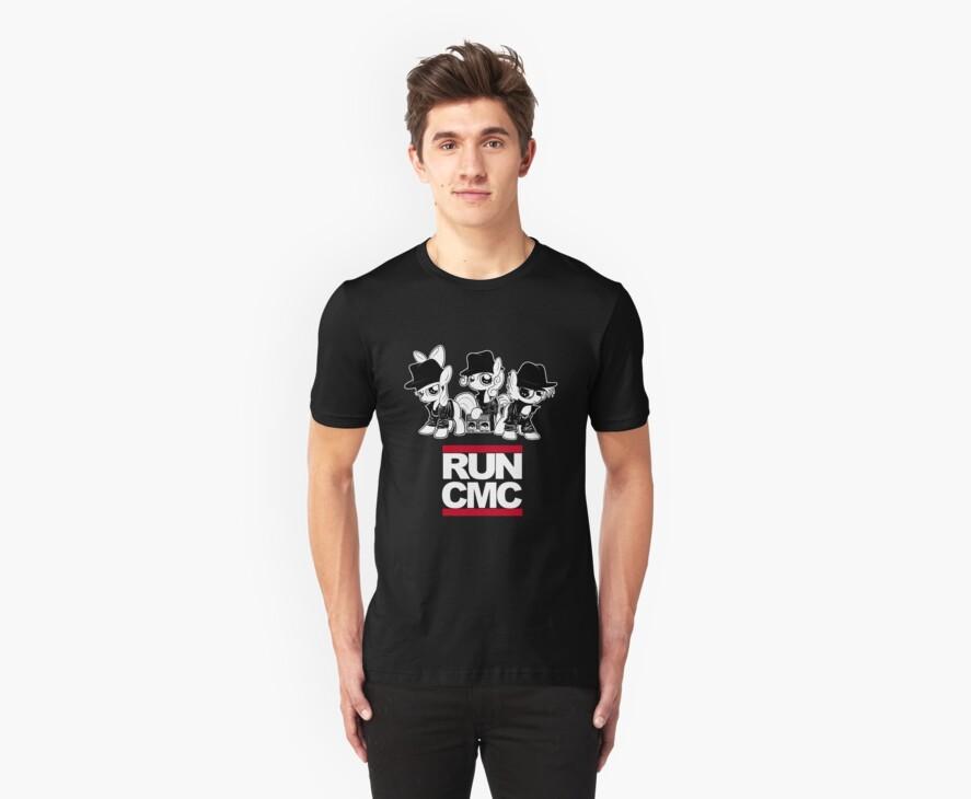 RUN CMC T-shirt (black) by Dori-to