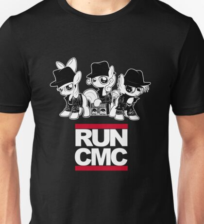 RUN CMC T-shirt (black) Unisex T-Shirt
