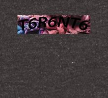 Toronto Logo Reverse BLACK Zipped Hoodie