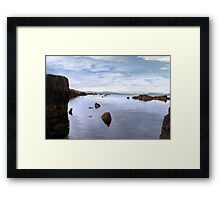 tranquil kerry view Framed Print