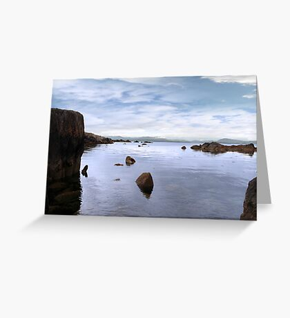 tranquil kerry view Greeting Card
